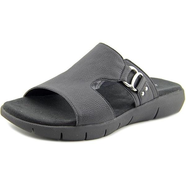 Aerosoles New Wip Women Open Toe Synthetic Black Slides Sandal
