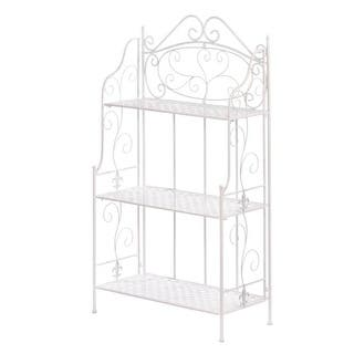 White Basket Weave Bakers Rack|https://ak1.ostkcdn.com/images/products/is/images/direct/dc3a6e8ba34a7804f9f4e6692813264eb111dfc6/White-Basket-Weave-Bakers-Rack.jpg?impolicy=medium