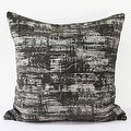 "G Home Collection Luxury Brown Mix Color Metallic Chenille Pillow 22""X22"" - Thumbnail 2"