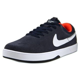 Nike Eric Koston (GS) Youth Round Toe Suede Black Basketball Shoe