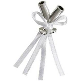 Silver - Mini Champagne Flutes 12/Pkg