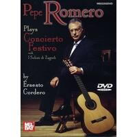 Pepe Romero - Plays Concierto Festivo by Ernesto Cordero [DVD]