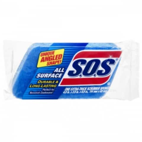 SOS 91017 All Surface Scrubber Sponge Pads