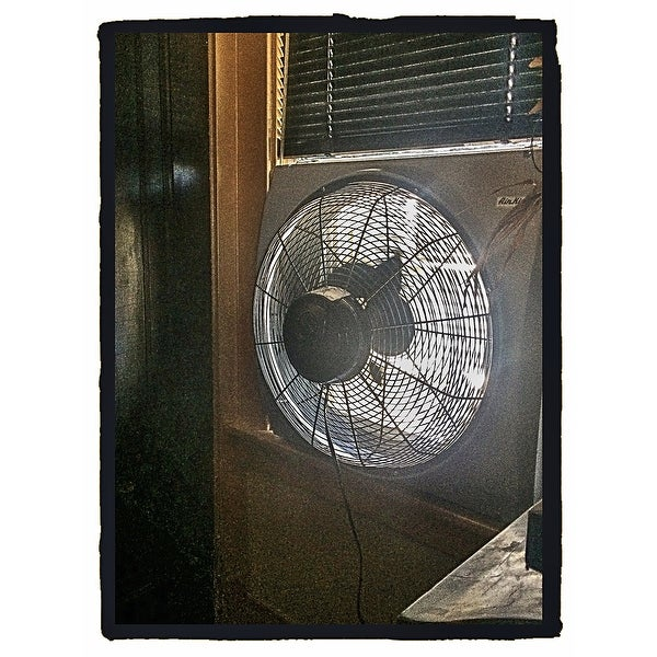 Air King 9166 26 3 4 3560 Cfm Whole House Window Mounted Fan With Storm Guard Housing From The Window Fans Collection Overstock 13741513