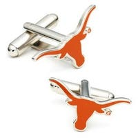 Silver Plated University of Texas Longhorns Cufflinks