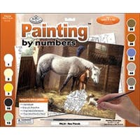 """New Friends - Paint By Number Kit 15.375""""X11.25"""""""