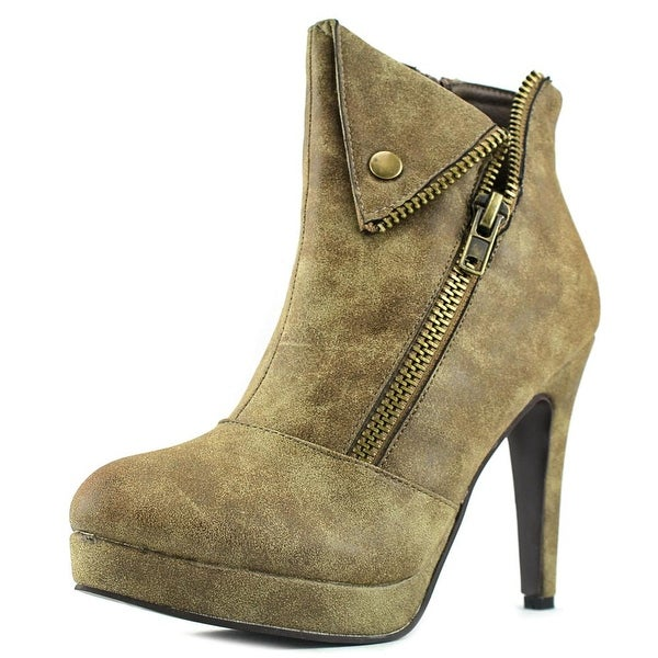 2 Lips Too Too Snappy Women Taupe Boots