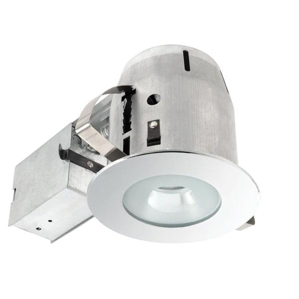 Globe Electric 9202701 4 inch Recessed Lighting Kit, Bathroom, Spot Light