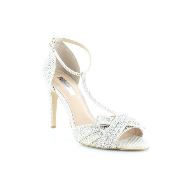 INC International Concepts Risha Women's Heels Champagne