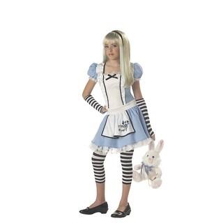 Alice in Wonderland Child Tween Halloween Costume