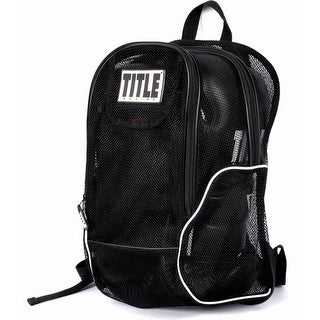 Title Boxing Mesh Equipment Backpack