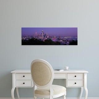 Easy Art Prints Panoramic Images's 'Seattle WA USA' Premium Canvas Art
