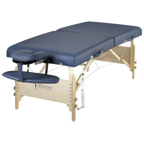 Master Massage 30-inch Coronado ThermaTop Portable Massage Table with Warmer Pad