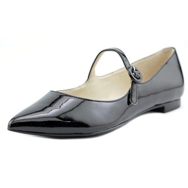 Marc Fisher Stormy Women  Pointed Toe Leather Black Mary Janes