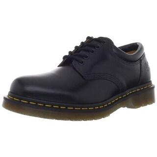 Dr. Martens Mens Leather Round Toe Oxfords - 7 medium (d)