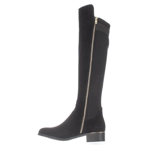 Calvin Klein Womens Cyra Closed Toe Knee High Fashion Boots