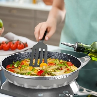 Link to ARTMARTIN Non-Stick Ceramic Coated Frying Pan Similar Items in Cookware