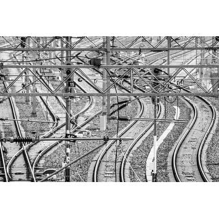 Railroad Tracks Photograph Art Print