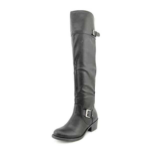 Style & Co. Womens Kimby Almond Toe Over Knee Fashion Boots