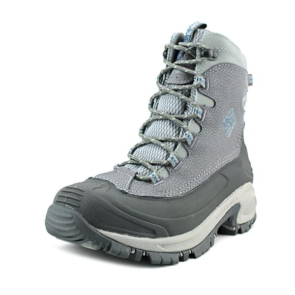 Columbia Bugaboot Women Round Toe Leather Gray Snow Boot