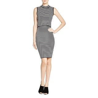 Lucy Paris Womens Party Dress Mock Neck Layered