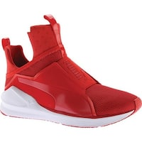 PUMA Women's Fierce Cross Training Shoe High Risk Red/PUMA White