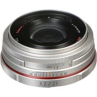 Pentax HD Pentax DA 21mm f/3.2 AL Limited Lens (Silver) - silver