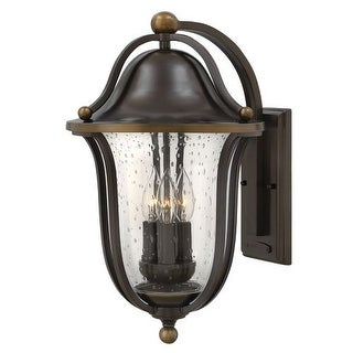 Hinkley Lighting 2645 3 Light Outdoor Lantern Wall Sconce from the Bolla Collection