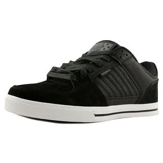 Osiris Protocol Men  Round Toe Leather Black Skate Shoe