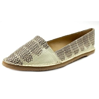 Lucky Brand Bernice Round Toe Leather Flats