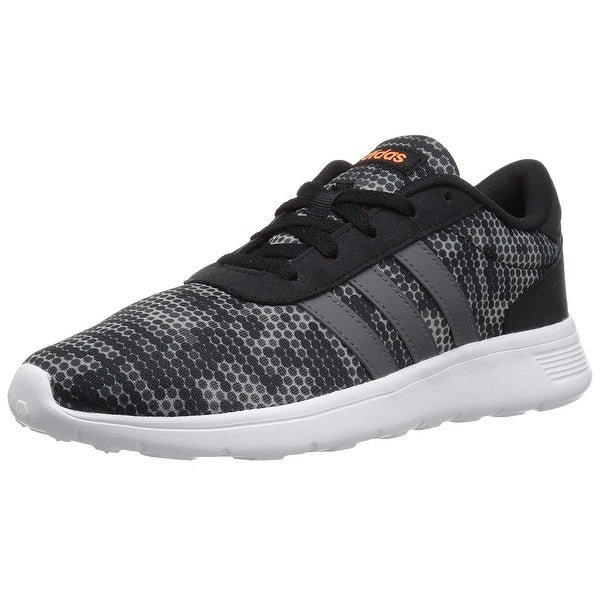 shop adidas womens lite racer low top lace up running. Black Bedroom Furniture Sets. Home Design Ideas