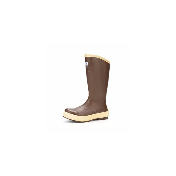 Xtratuf Mens Legacy 2.0 -15 Plain Toe Fishing Boots w/ Chevron Outsole- Size 14
