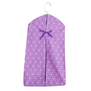 Bedtime Originals Lavender Woods Purple Floral Diaper Stacker