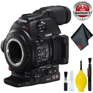 Canon EOS C100 Mark II Cinema EOS Camera with Dual Pixel CMOS AF (Body Only) Body Only