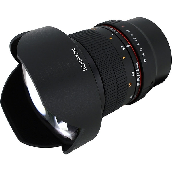 Rokinon 14mm f/2.8 ED AS IF UMC Lens for Samsung NX Mount - Black