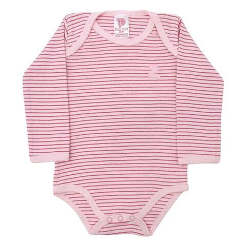 Baby Bodysuit Unisex Infants Striped Bodysuit Style Pulla Bulla Sizes 0-18 Months