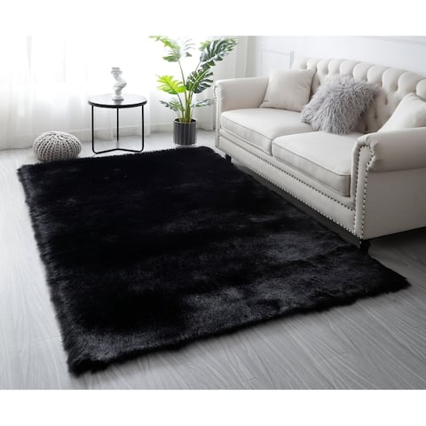 Faux Sheepskin Soft Fluffy Area Rug