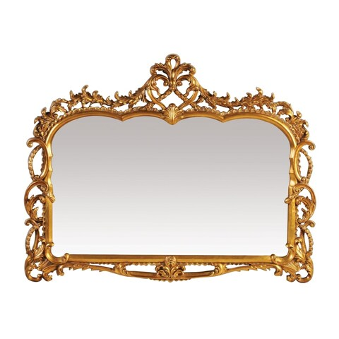 "Sterling Industries 40-2470M Capetian 55"" Height Mirror - Gold Leaf - N/A"