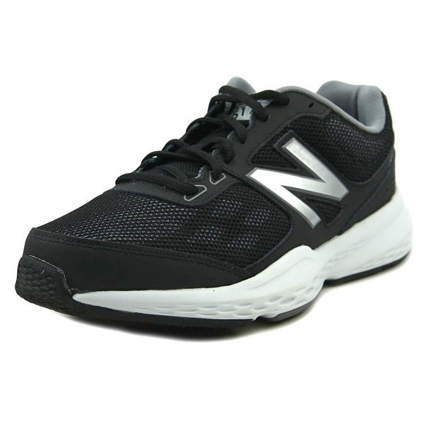 New Balance MX517 Women D Round Toe Synthetic Black Running Shoe