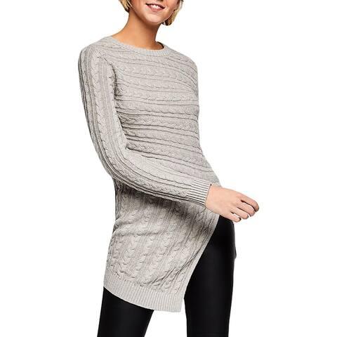 BCBGeneration Womens Pullover Sweater Tunic Asymmetric