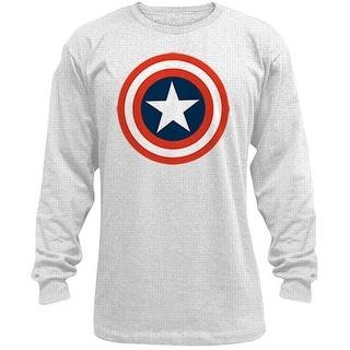 Captain America 80s Captain Men's Long Sleeve Thermal T-Shirt