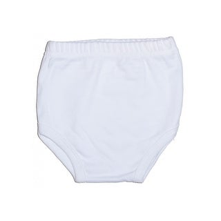 Bambini Baby White Interlock Training Pants