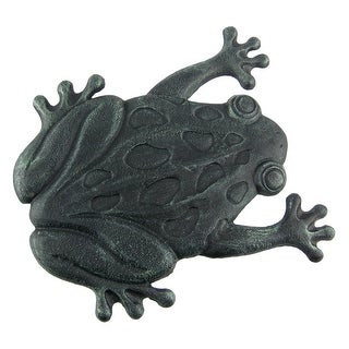 Cast Iron Frog Garden Stepping Stone Step Tile