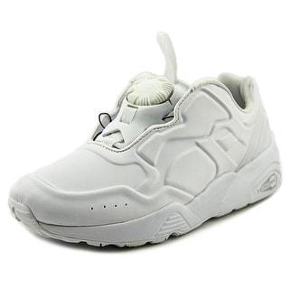 Puma Disc 89 Youth Round Toe Synthetic White Walking Shoe