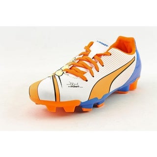 Puma evoPower 4.2 POP FG Jr Round Toe Synthetic Cleats