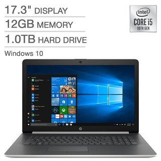 "Link to HP 17.3"" i5-1035G1, 1TB HDD, 12GB Ram, DVD, W10 - 17-by3053cl (Manufacturer Refurbished) Similar Items in Laptops & Accessories"