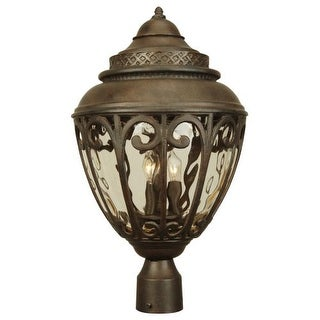 Craftmade Z3825 Olivier 3 Light Post Light