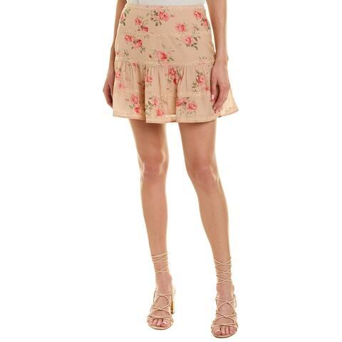 Love Sam Lace-Trim Skirt