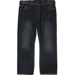 Link to Buffalo David Bitton Mens Driven Relaxed Jeans, blue, 40W x 32L - 40W x 32L Similar Items in Pants
