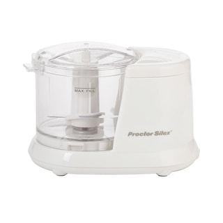 Proctor Silex 72500RY Mini Food Chopper, White